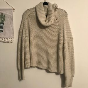 🐑Cowl Neck Knit Sweater